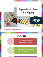 Paper-Based Food Packaging