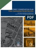 Henrietta Street Conservation Plan