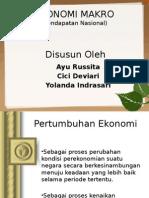 Makro ekonomi - Pendapatan Nasional