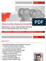 Advanced Development Using OBIEE Plus