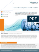 Human Subjects Research Seminar - Current Regulations Under FDA and HIPAA at San Diego, CA
