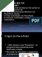El Origen de Power Point