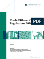 The Trade Effluent Control Regulations