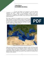 La Presencia Española en La Segunda Guerra Mundial