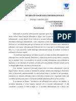 Societatea Informationala