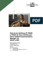 Guia Completa Terminales Cisco 7962