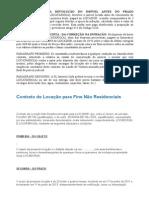 Aluguel Comercial - CONTRATO