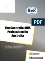 3 the Generalist OHS Professional