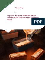 Big Data Alchemy