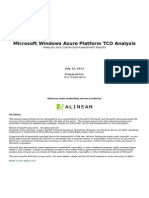 Microsoft Windows Azure Platform TCO Calculator