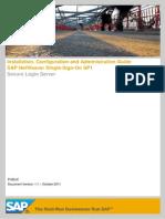SAP NetWeaver Single-Sign-On SP1