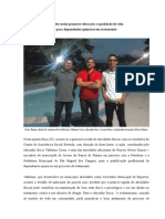 Projeto Social Promove Educação e Qualidade de Vida