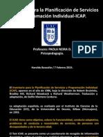 Presentación ICAP Psicopedagogía UAC