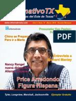 Informativo TX 23ava Edicion Marzo 2015 PDF