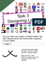 task 3 - designing a logo for your website