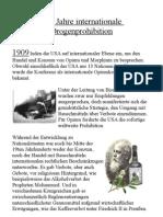 100 Jahre Drogenprohibition