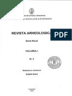Revista Arheologica, Vol. I, Nr. 2, Chisinau 2005