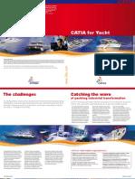 CATIA for Yacht Brochure