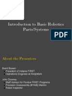 Introduction to Basic Robotics Parts Systems