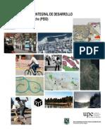 Plan Estratégico e Integral de Desarrollo de San Carlos de Bariloche, documento parcial, Febrero 2015.