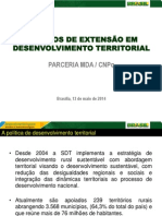 Politica de Desenvolvimento Territorial