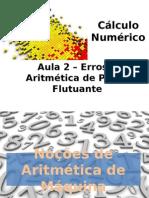 Aula2 CalculoNumerico Erros AritmeticaPF