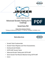 AdvancAdvanced-Scratch-Testing-for-Evaluation-of-Coatings-Slidesed Scratch Testing for Evaluation of Coatings Slides