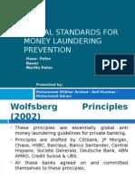 Global Standards for Money Laundering Prevention