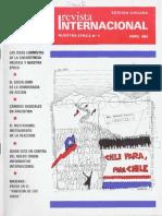 Revista Internacional Abril 1984 Edición Chilena