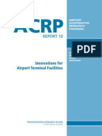 Innovations for Airport Terminal Facilities