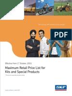 Kits Pricelist 2011