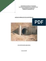 Analisis Hidraulico de Alcantarillas