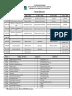 Horário Oficial mestrado unb 2015-1
