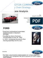 Ford_Supply Chain