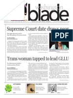 Washingtonblade.com, Volume 46, Issue 11, March 13, 2015