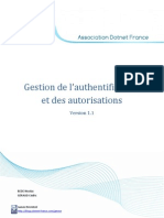 Gestion de L_authentification Et Des Autorisations