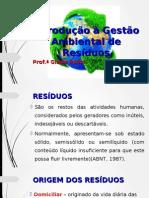 Introdução à Gestão Ambiental de Resíduos