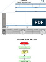 Kaizen Form and Process