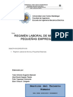 Regiemn Especial de Micros y Pequeñas Empresas