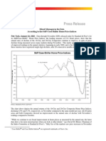 S and P Case-Shiller Press Release 1-26-2010