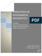 Principios de Resonancia Magnetica
