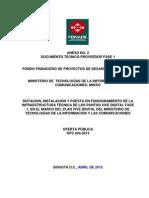 Archivo 05 - Anexo No 2- Doc Tecnico Proveedor Fase 1