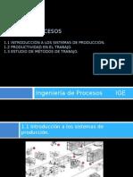 Unidad 1 Procesos