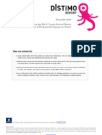 Distimo Report - December 2009