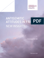 Dominique Reynié - Anti-Semitic Attitudes in France