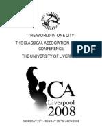 Liverpool 2008-symposium