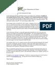 Sponsor Letter