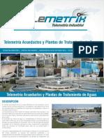 telemetria Acueductos y Plantas de Tratamiento de Aguas