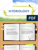 Hydrology and Climate Change