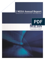 MESA 2012 Annual Report